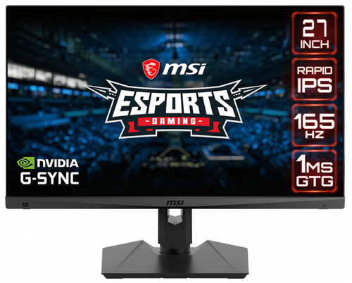 "MSI MAG-274QRF QD | QHD 165HZ 1MS CURVO 27"" G-SYNC E-SPORTS"