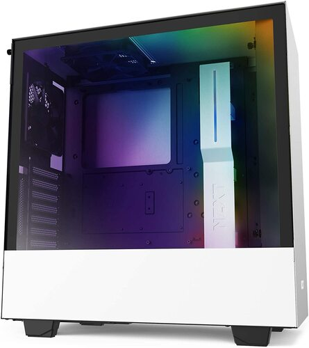NZXT H510I WHITE | MID-TOWER - VETRO - CONTROLLER INTEGRATO