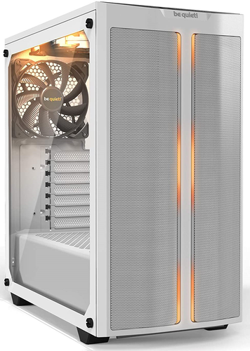 BE-QUIET! PURE BASE 500DX WHITE/RGB | VETRO - RGB