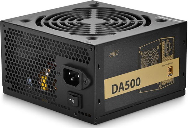 DEEPCOOL DA500N | 500W - 80PLUS BRONZE - FIXED CABLES