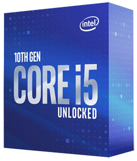 INTEL CORE I5-10600K | 6-CORES / 12-THREADS - 4.10/4.80GHZ - 125W TDP IGP