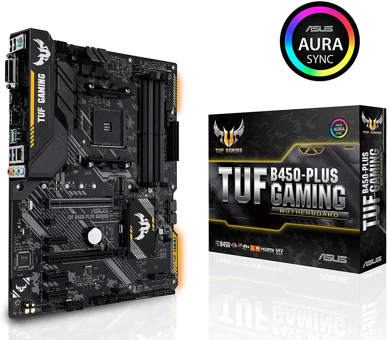 ASUS TUF B450 GAMING PLUS | ATX - RGB
