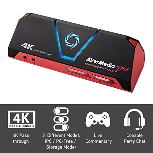 Avermedia Live GAMER Portatile 2 Plus Ultra HD 4K60P