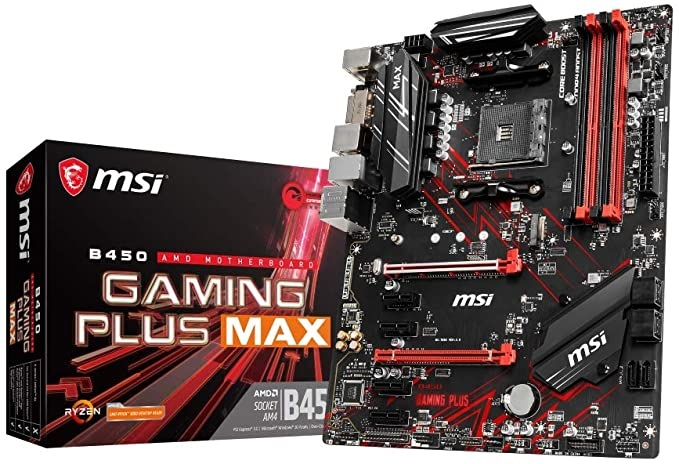 MSI B450 GAMING PLUS MAX | ATX - RGB