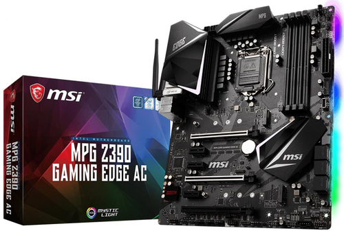 MSI Z390 GAMING EDGE AC | ATX - RGB - WIFI